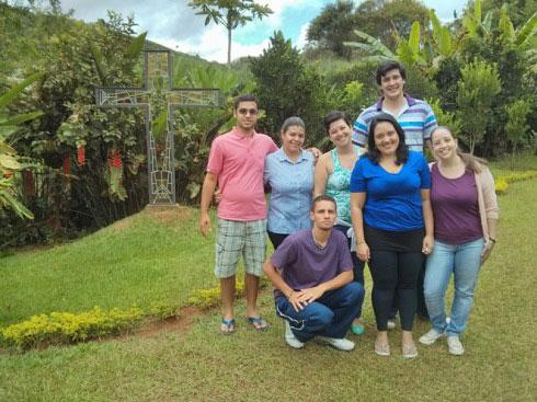 Novos alunos do CEM (Centro Evangélico de Missões), em Viçosa, MG.