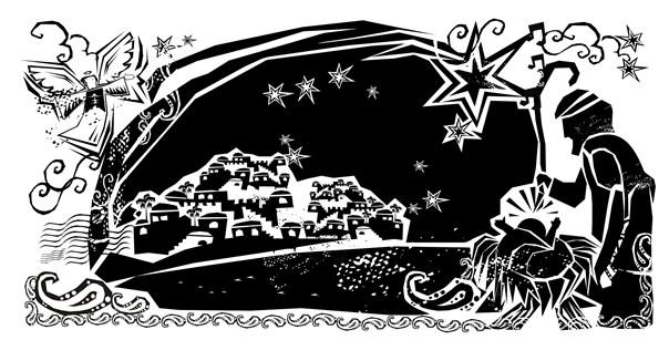 Cordel de Natal. Artista: Meg Banhos. (http://megbanhos.blogspot.com)