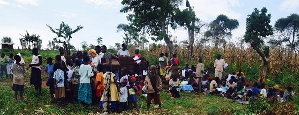 Zazá em um campo de refugiados