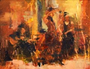 """Flamenco Fiesta"", de Hyatt Moore."