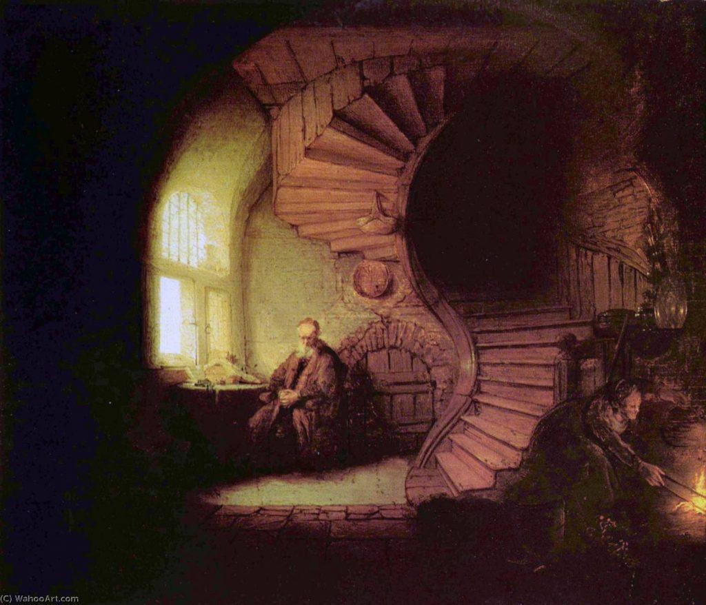 Imagem: Rembrandt Van Rijn - Petróleo - 28 x 34 cm - 1632 - (Musée du Louvre (Paris, France))