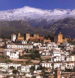 Sierra Nevada, Alhambra and Albaicin. Photo EDILUX S.L