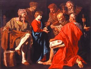 christ among doctors