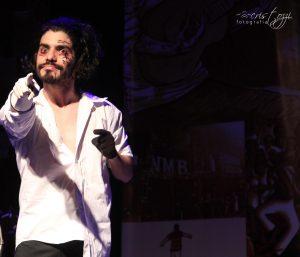 Teatro: Rafael Damata. Foto: Cris Tozzi.