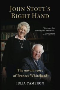 Livro de Julia Cameron sobre Frances Whitehead