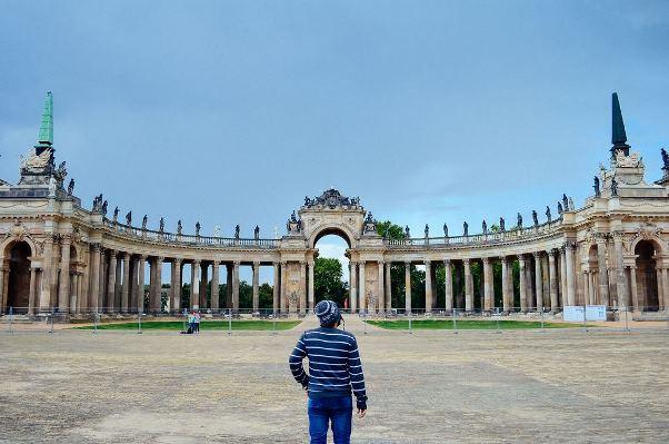 Daniel em Potsdam, Alemanha. Foto: Mateus Viegas