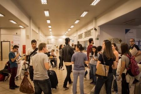 Participantes estão chegando no Vocare2016