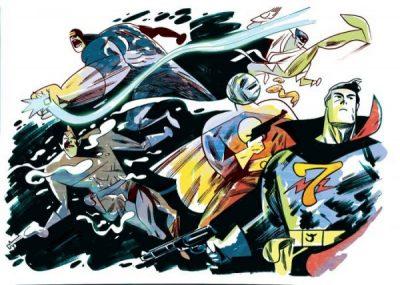 Michelle também divulga em seu blog a arte de outros brasileiros, como esta de Jefferson Costa