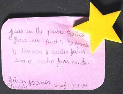 Pedido de Oração - Bianca Tiraly, 10 anos