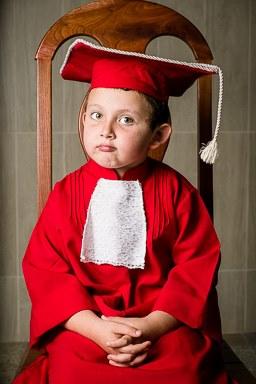 Pedro Gabriel Riverin Jacob - 5 anos, formando da turma jardim 2 (Creche Rebusca).