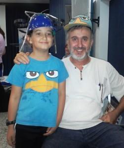 Luis Cesari, Juventud para Cristo, Uruguai, fundador do Claves e James William, menino que gosta de se divertir!