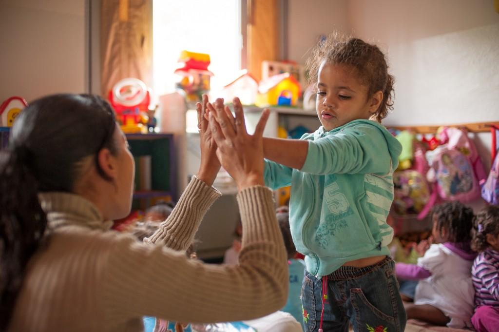 Rebusca Day Care children