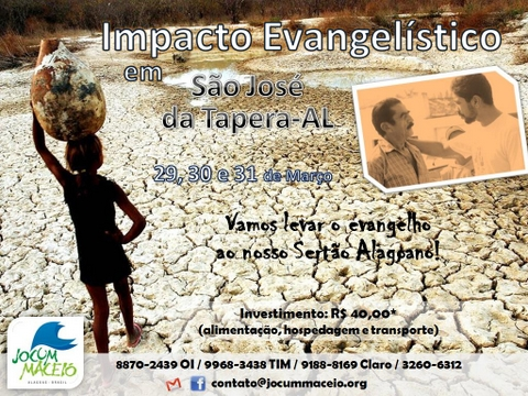 Cartaz - Impacto São José da Tapera