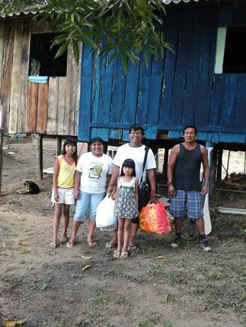 Instituto Semiraite: equipe Fam, Surui e e Gregorio Daw