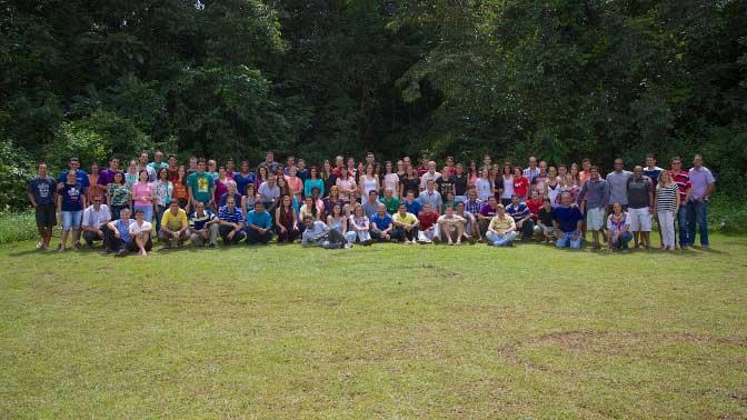 Participantes do Capacitar 2014