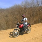 Valdemar e sua moto
