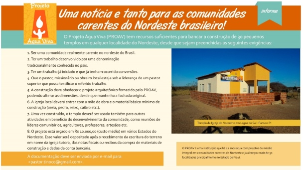 Anúncio publicado na revista Ultimato (julho-agosto/2014).
