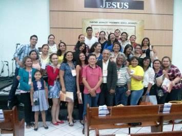Participantes do congresso em Manaus (AM)