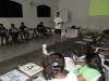 Missionário Marcos Ribeiro dando aula