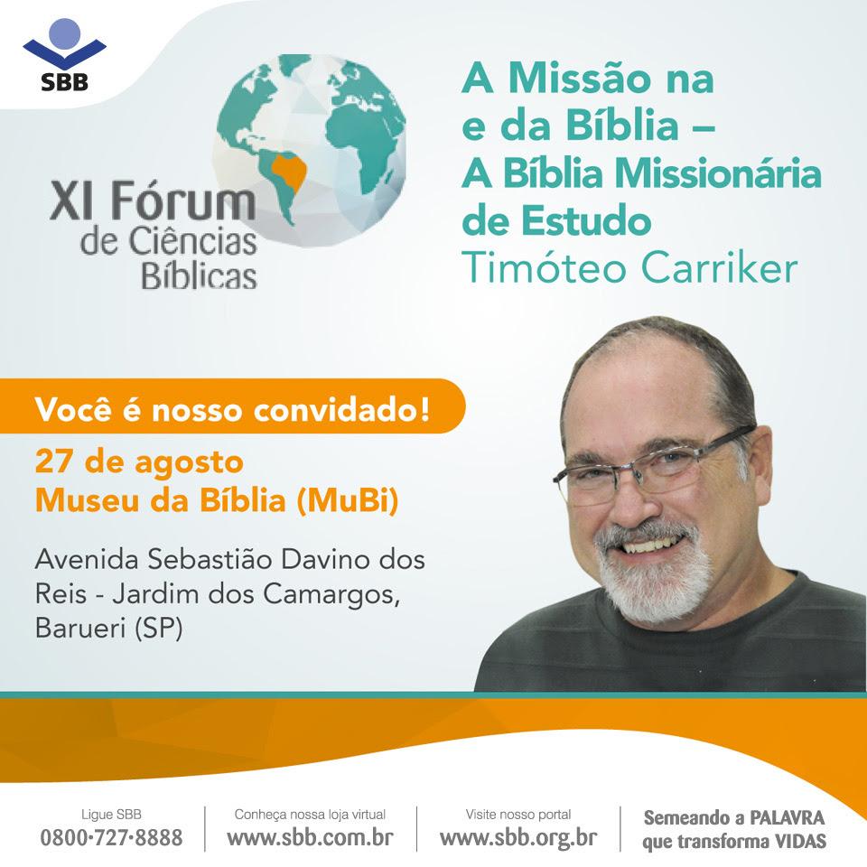Forum de Ciências Bíblicas